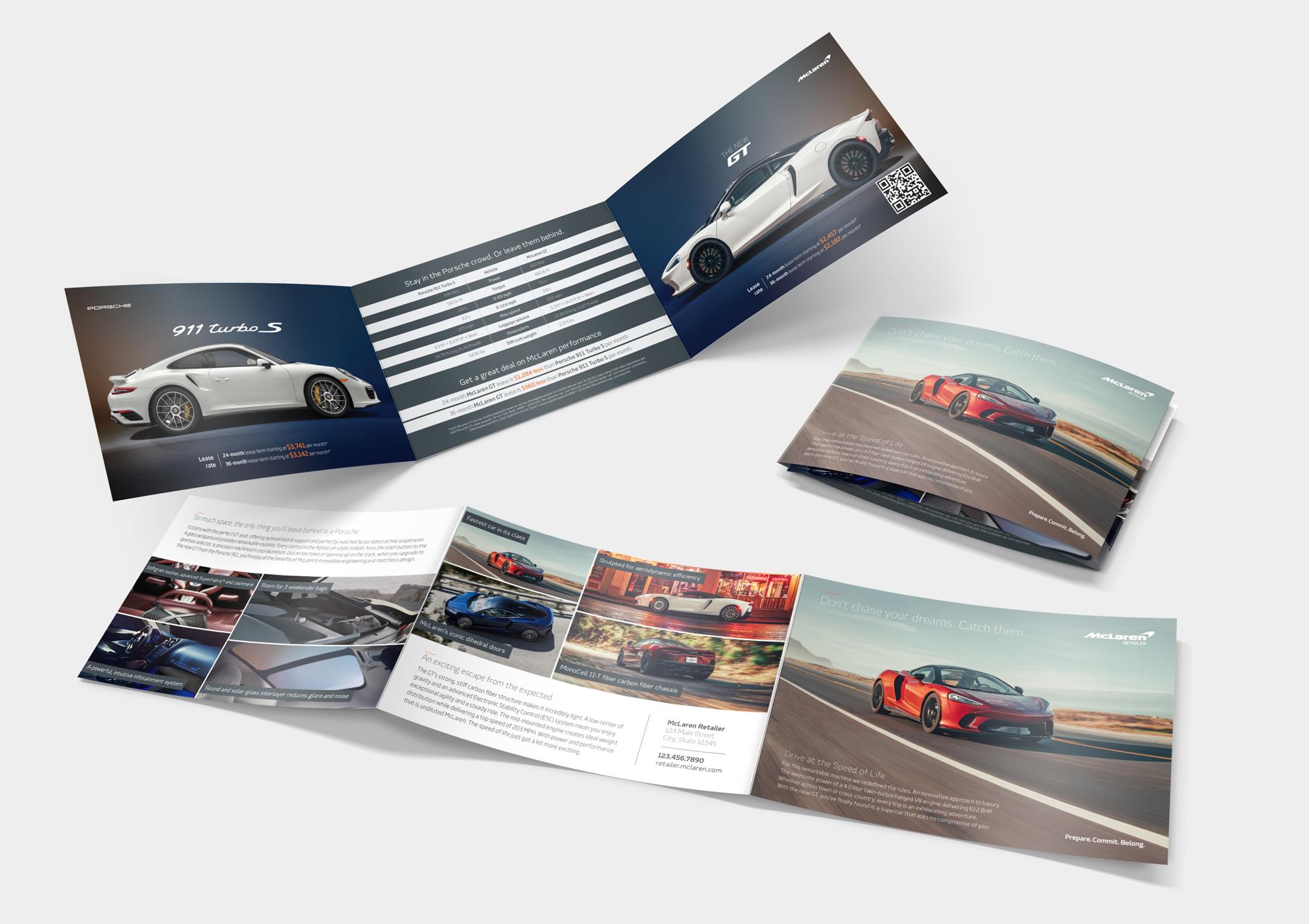 McLaren GT Direct Mailers