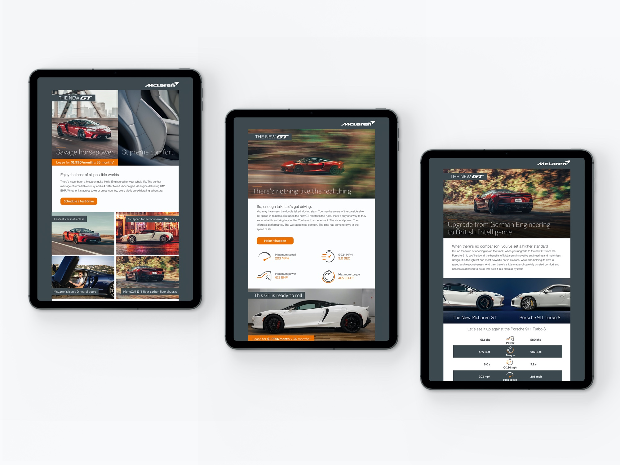 McLaren GT Emails