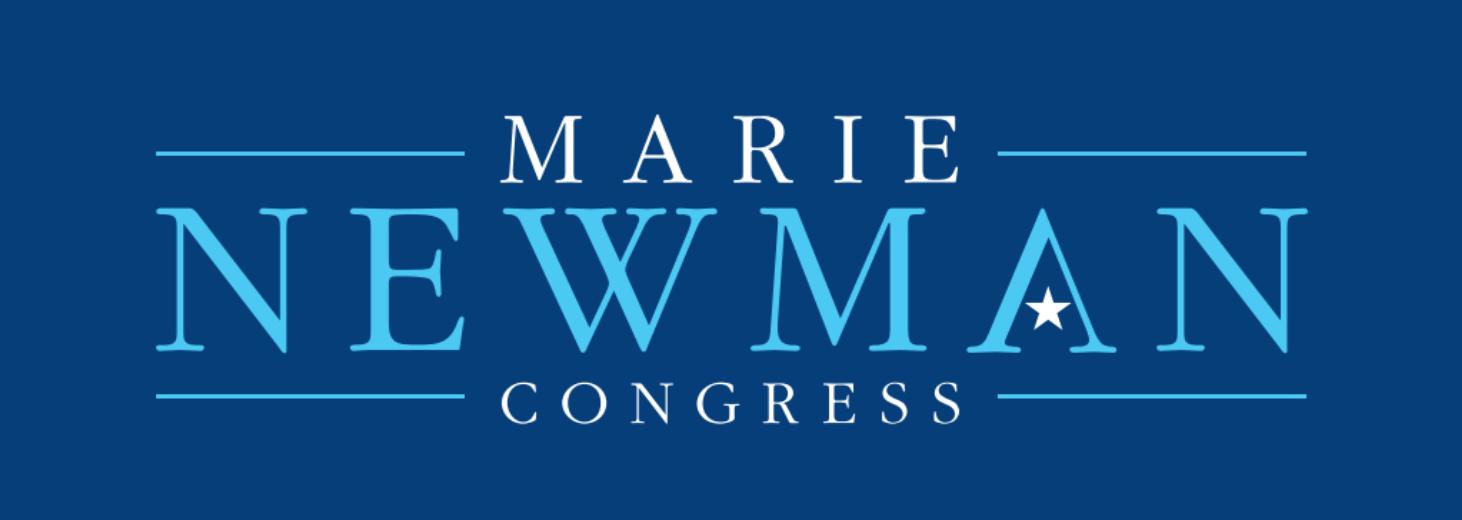 marie newman for congress serif logo